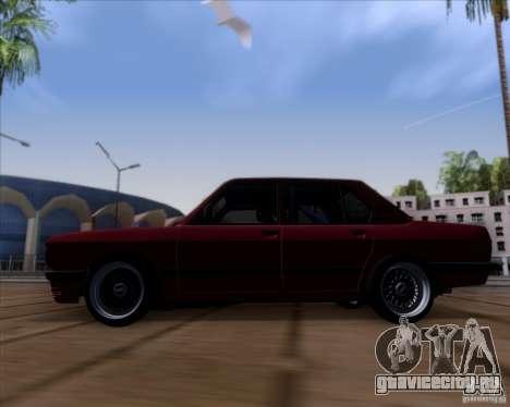 BMW 5-er E28 для GTA San Andreas вид слева
