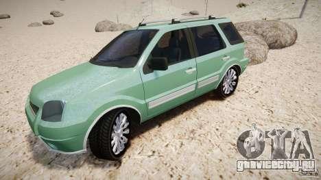 Ford EcoSport для GTA 4 колёса