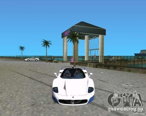 Maserati MC12 для GTA Vice City вид слева