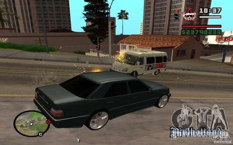 Стрелять из машины как в ГТА 4 для GTA San Andreas второй скриншот