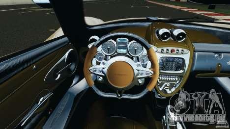 Pagani Huayra 2011 v1.0 [RIV] для GTA 4 двигатель