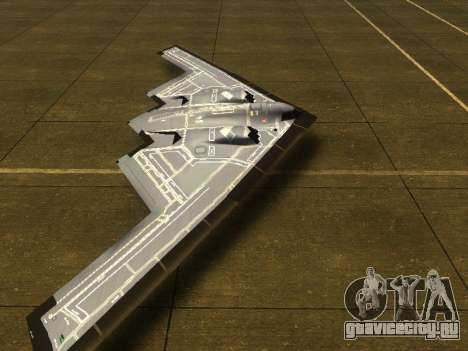 B2 Spirit для GTA San Andreas вид слева