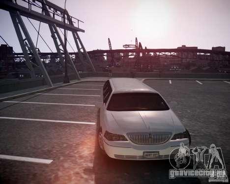 Lincoln Town Car Limousine для GTA 4 вид сзади слева