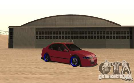 Seat Toledo 1999 Tuned для GTA San Andreas