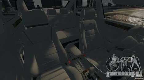 Audi RS6 2003 для GTA 4 вид изнутри