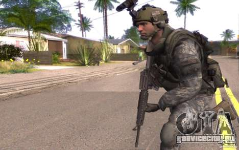Капрал Данн для GTA San Andreas второй скриншот