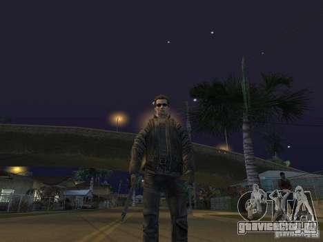 Terminator для GTA San Andreas четвёртый скриншот