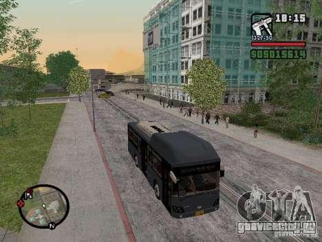 Daewoo BS110CN для GTA San Andreas вид сзади слева