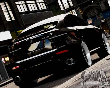 BMW X6 Tuning v1.0 для GTA 4 вид слева
