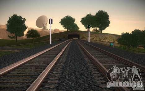 HD Рельсы v2.0 Final для GTA San Andreas шестой скриншот