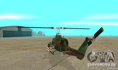 AH-1 super cobra для GTA San Andreas вид справа