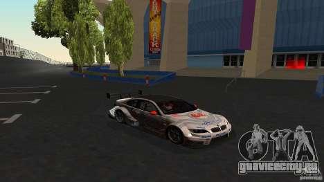 BMW E92 M3 для GTA San Andreas вид сбоку