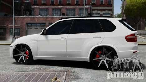 BMW X5M для GTA 4 вид слева
