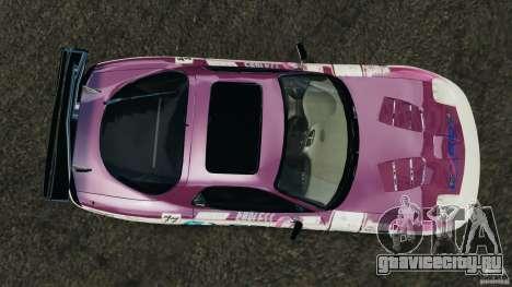 Mazda RX-7 EXEDY D1 для GTA 4 вид справа
