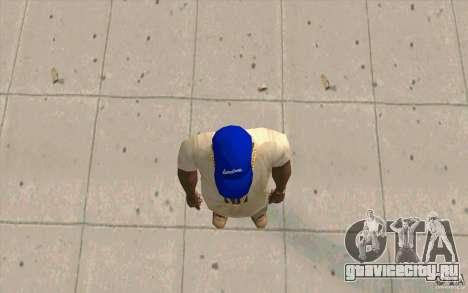 Кепка WCCB для GTA San Andreas третий скриншот