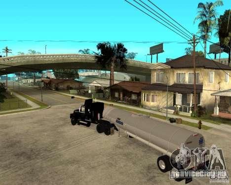 Rubber Duck Mack для GTA San Andreas вид слева