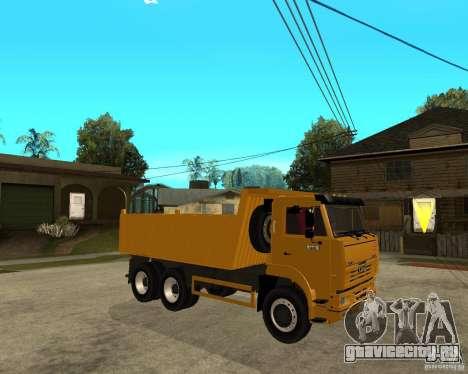 КамАЗ 6520 TAI для GTA San Andreas вид справа
