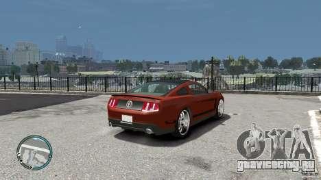 Ford Mustang Boss 302 2012 для GTA 4 вид справа