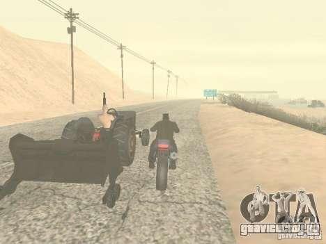 Автомобили с прицепами для GTA San Andreas шестой скриншот