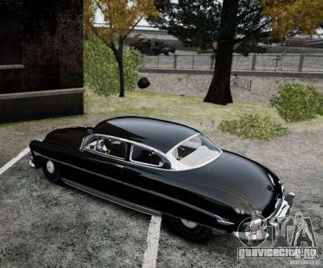 Hudson Hornet Club Coupe для GTA 4 вид справа