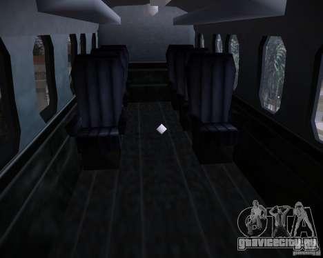Ми-8 для GTA Vice City вид изнутри