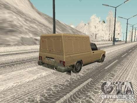ИЖ 27175 Зимняя версия для GTA San Andreas вид слева