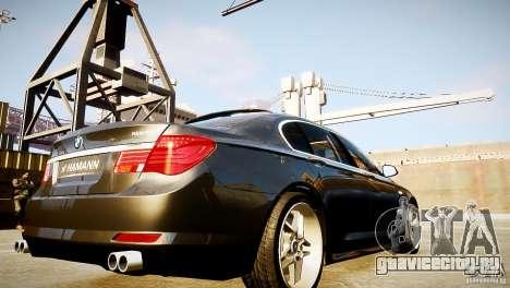 BMW 750Li (F02) Hamann 2010 v2.0 для GTA 4 вид сбоку