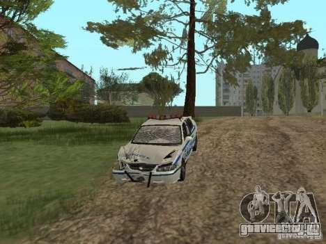 Police из ГТА 4 для GTA San Andreas вид изнутри