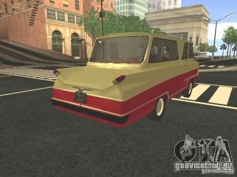 Микроавтобус Старт v1.1 для GTA San Andreas вид слева