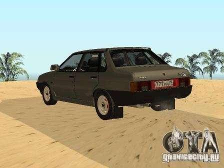 ВАЗ 21099 Летняя для GTA San Andreas вид слева
