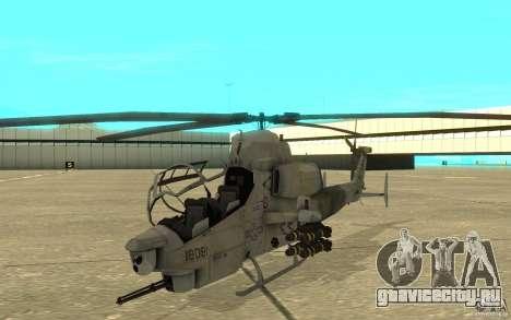 Cobra для GTA San Andreas вид слева