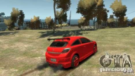 Opel Astra для GTA 4 вид слева