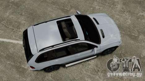 BMW X5 4.8IS BAKU для GTA 4 вид справа