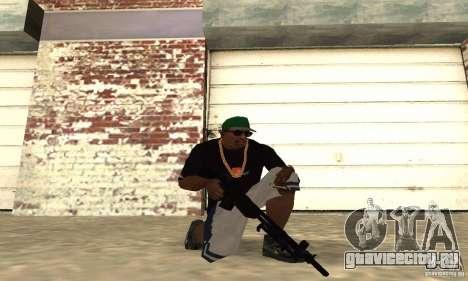 Browning M1919 для GTA San Andreas второй скриншот