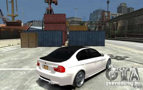 BMW 330i E60 Tuned 1 для GTA 4 вид справа
