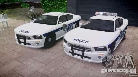 FIB Buffalo NYPD Police для GTA 4 вид снизу