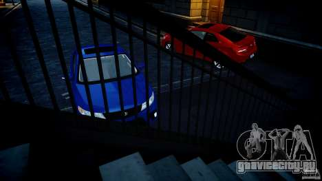 KIA Forte Koup для GTA 4 вид изнутри