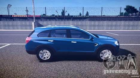Chevrolet Captiva 2010 Final для GTA 4 вид сбоку