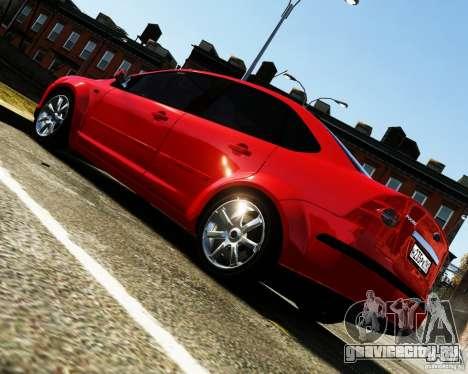 Ford Focus 2008 для GTA 4 вид слева