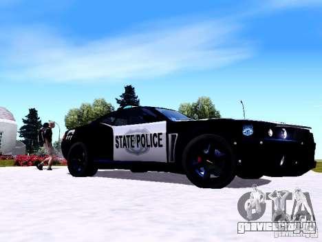 NFS Undercover Cop Car MUS для GTA San Andreas