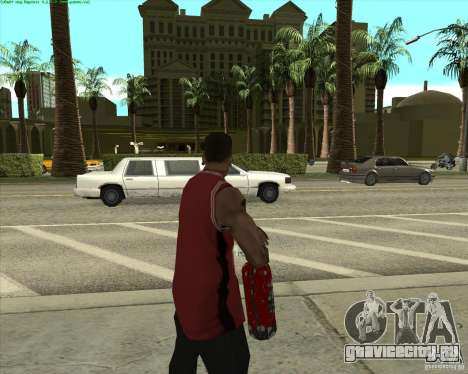 Blood Weapons Pack для GTA San Andreas второй скриншот