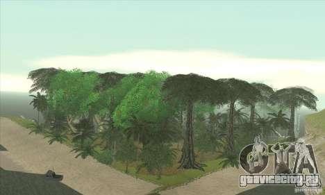 Тропический остров для GTA San Andreas четвёртый скриншот