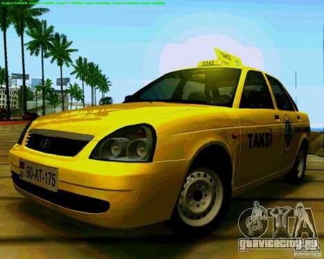 ВАЗ 2170 Priora Baki taksi для GTA San Andreas