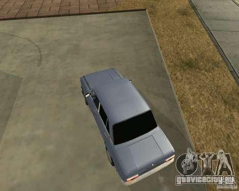 Копейка (исправленная) для GTA San Andreas вид слева