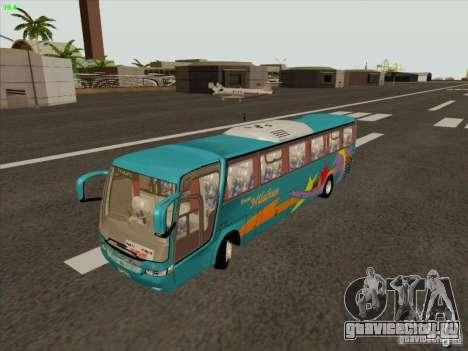 Mercedes-Benz Vissta Buss LO для GTA San Andreas вид изнутри