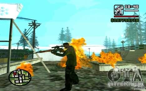 Снайперская Винтовка Драгунова v1.0 для GTA San Andreas четвёртый скриншот