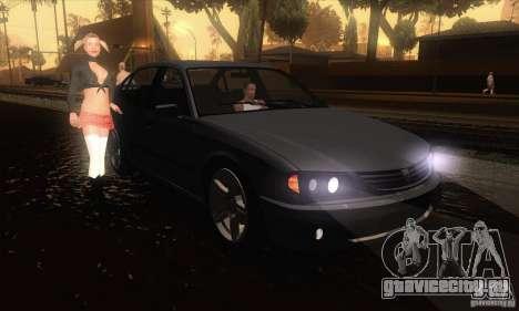 GTA IV Merit для GTA San Andreas вид сзади