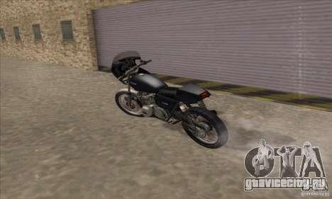 Kawasaki KZ1000 для GTA San Andreas вид сзади