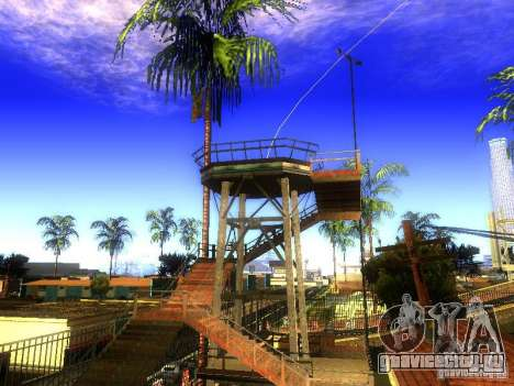 База Гроув стрит для GTA San Andreas третий скриншот