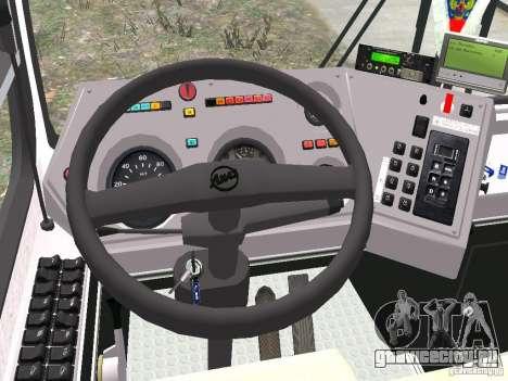 ЛиАЗ 5256.25 для GTA 4 вид сзади